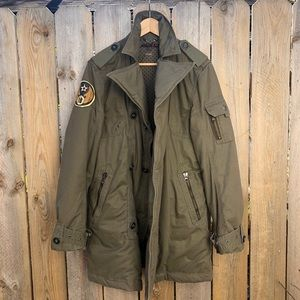 Levi's   RARE Army Style Double Breasted Parka